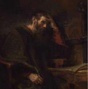 "REMBRANDT, ""PABLO EL APÓSTOL"" (CA. 1657)"