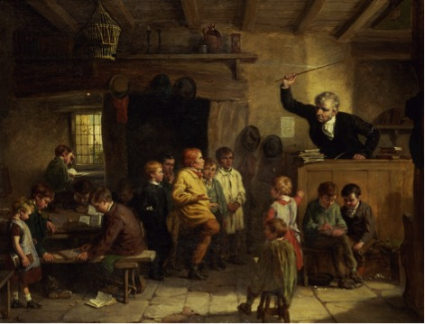 "WILLIAM BROMLEY III, ""A VILLAGE SCHOOL"" (CA. 1815-88)"